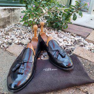 Allen Edmonds Grayson Tassel Loafers. Black.